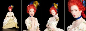 FBS Portrait Serie . Aloysia Weber - Iris Maria Stromberger
